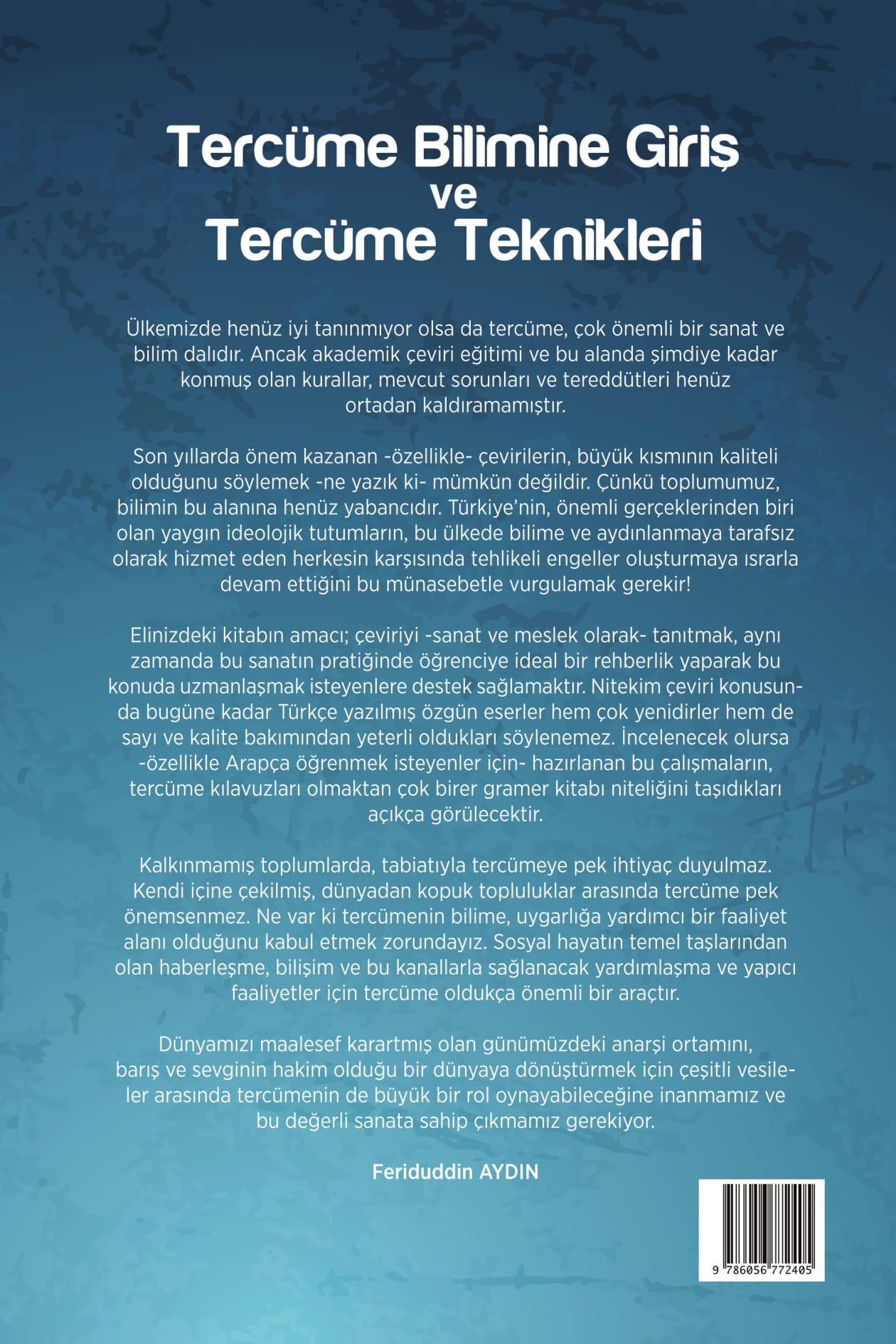 Tercüme Bilimine Giriş ve Tercüme Teknikleri