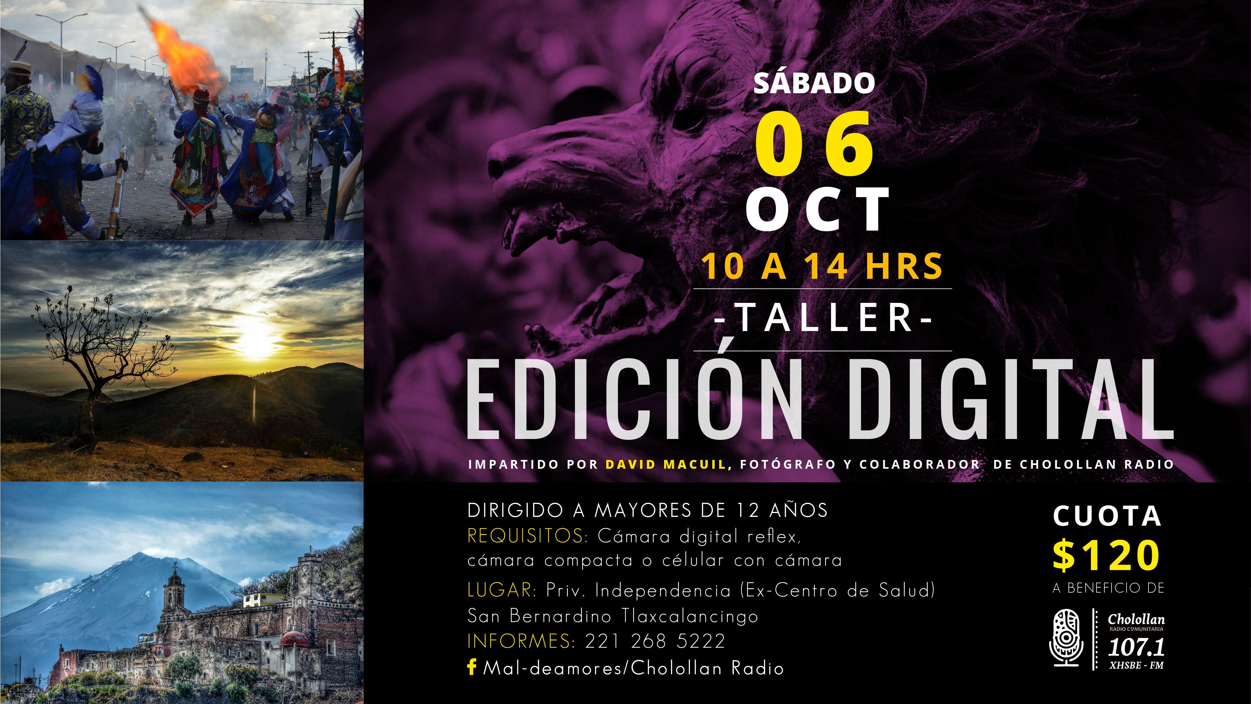 Taller de edición fotográfica @ Cabina de Radio (Ex Centro de Salud).