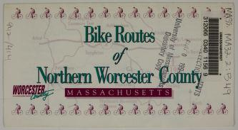 Bike routes of Northern Worcester County, Massachusetts by Worcester County (Mass.)