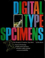 Cover of: Digital type specimens | Ben Rosen