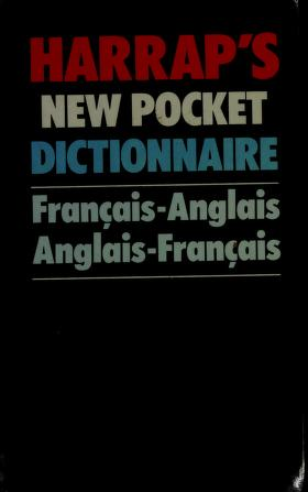 Cover of: Harrap's new pocket French and English dictionary |