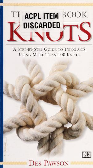 The Handbook Of Knots Pawson Des Free Download Borrow And Streaming Internet Archive