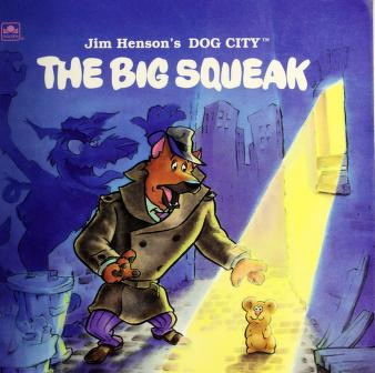 Cover of: Jim Henson's Dog City by Richard Chevat