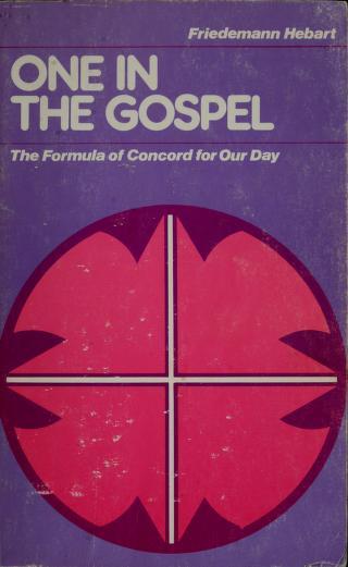 One in the gospel by Friedemann Hebart