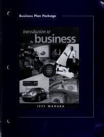 Cover of: Pkg Bus Plan-Intro to Business   MADURA