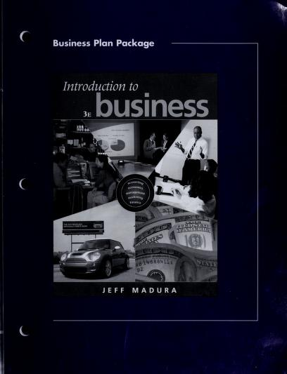 Pkg Bus Plan-Intro to Business by MADURA
